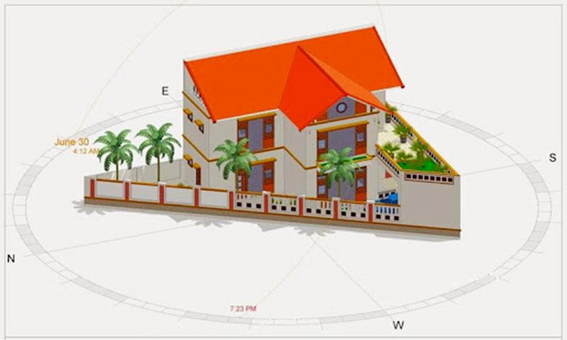 cách chọn hướng khi xây nhà