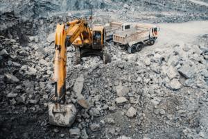 quy trình khai thác đá xây dựng